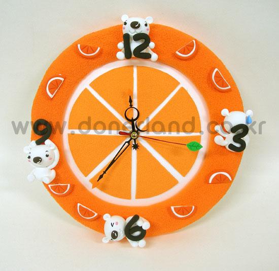 상큼~한 오렌지시계☆